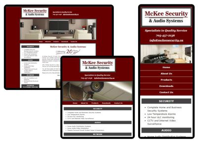Responsive Website Design by Wolf Song Communications